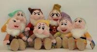 Peluche les Sept Nains Originales Disney Blanche-Neige et 7 - 2 Dimensions