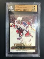 2014-15 Upper Deck Anthony Duclair Young Guns Canvas Rookie BGS 10 Pristine