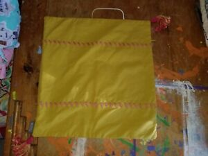 """Echo """"Chartreuse w/Pink Stitching & Tassels"""" 14"""" Pillow Cover"""