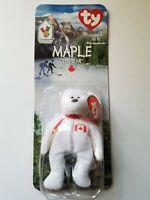 Maple The Bear - 1997 McDonalds Ty Beanie Baby With Rare Errors 1993, OakBrook