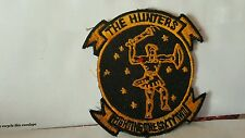 THE HUNTERS FIGHTING ONE SIXTY TWO Patch 3 1/2 x 3 1/4 inches