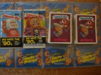 2019 GARBAGE PAIL KIDS WE HATE THE 90'S COMPLETE SET 220 CARDS + BOTH WRAPPERS !