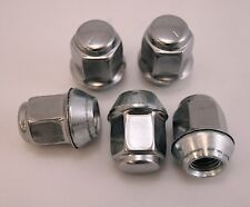 5 New Jeep Compass Patriot Factory OEM Polished Stainless Lug Nuts Lugs 12x1.5
