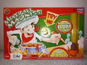"""MEATBALL MADNESS Game """"Out of production"""" by Tara Toys NEW"""