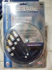 New listing Monster Cable Interlink 400 Mk Ii, Advanced Multi-Gauge Bandwidth Balanced - 4M