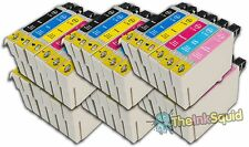 36 T0791-T0796 'Owl' Ink Cartridges Compatible Non-OEM with Epson Stylus 1410