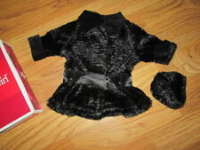 """Authentic 18"""" AMERICAN GIRL DOLL REBECCA'S WINTER COAT OUTFIT CLOTHES NEW"""
