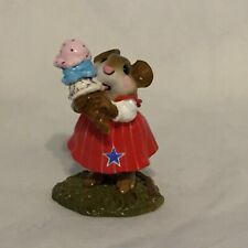 Wee Forest Folk M-277 Yummy - 3 scoops - pink/turquoise/vanilla sprinkles