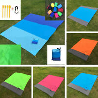 Portable Travel Picnic Camping Mat Waterproof Outdoor Beach Folding Camping Pad