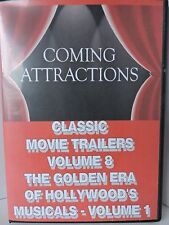 CLASSIC MOVIE TRAILERS VOLUME 8 - THE GOLDEN ERA OF HOLLYWOOD'S MUSICALS *NEW*