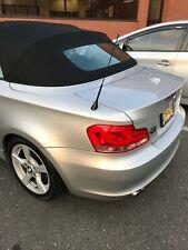 "16"" Black Fuba Antenna Mast Rod Power Radio AM/FM for BMW 1-Series 2004-2013 New"