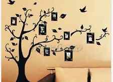 DIY Home Family Decor Photo Black Tree Removable Decal Wall Sticker Vinyl Art