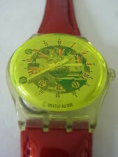 SLK108 Swatch - 1996 Musicall Funky Town Paolo Mendonça Swiss Made Authentic