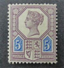 nystamps Great Britain Stamp # SG207 Mint OG H £800