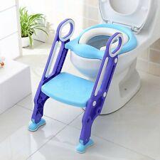 Toilettentrainer WC Sitz Kindertoilette Justierbarer Toilettensitz mit Treppe