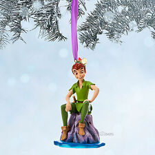 PETER PAN NEVERLAND LOST BOY DISNEY STORE 2014 SKETCHBOOK CHRISTMAS ORNAMENT NEW