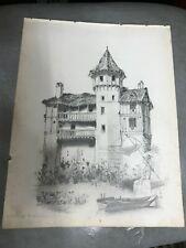Dessins et lavis du XIXe siècle et avant originaux en scène ...