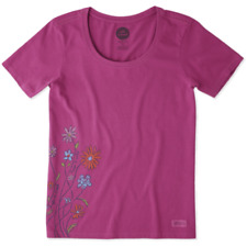 Life is Good Womens Creamy Scoop Love Grows Here Tee The Life is good Company