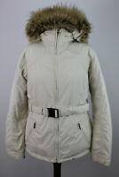 THE NORHT FACE HyVent White Parka Jacket size L