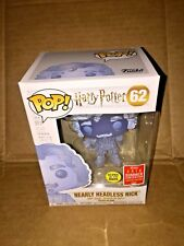 FUNKO POP! 2018 SDCC HARRY POTTER #62 NEARLY HEADLESS NICK SUMMER EXCLUSIVE