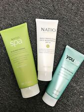 NATIO SET SPA BODY CLEANSER + FACE MOIST + OIL FREE MOIST!! GIFT SET! GIFT PACK!