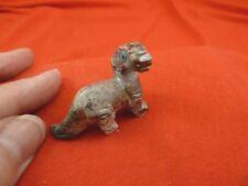 (y-din-br-13) Brontosaurus dinosaur carving Soapstone gem Figurine Apatosaurus