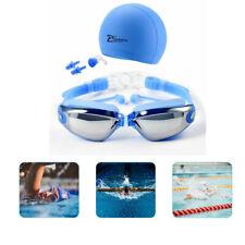Swimming Goggles Swim Anti Fog UV Protection Glasses 3 In 1 Swim Goggles Set