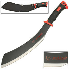 Blood And Iron Zombie Killer Outdoor Hunting and Camping Parang Machete Knife