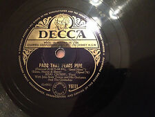 "BING CROSBY  ""Pass That Peace Pipe""/ ""Now Is The Hour"" 78rpm 10"" 1948 VG+"