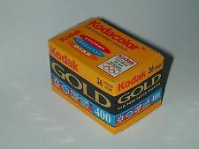 1 FILM PELLICULE 36 p KODAK GOLD 400 périmé 1998 photo photographie lomographie