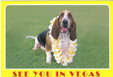 "*POSTCARD-""See You In Vegas"" --The Dog-- @ Las Vegas, Nevada  (LV-10)"