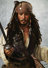 Johnny Depp / Pirates of the Caribbean - A3 Poster - FREE UK P&P