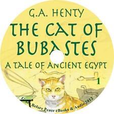 The Cat of Bubastes, G A Henty Audiobook Unabridged Fiction English on 1 MP3 CD