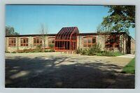 Holland MI, Hope College, Art Center & Gallery, Chrome Michigan Postcard