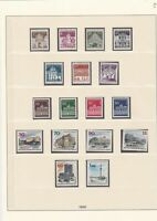 germany 1966 mint stamps page ref 17718
