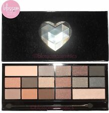 Makeup Revolution Eyeshadow Palette NAKED UNDERNEATH Nudes Browns I Heart Makeup
