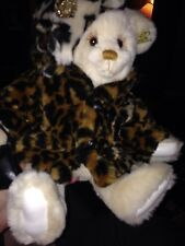 annette funicello leopard print bear