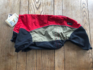 Hurtta Outdoor Overall-Red/Grey/Black (Polar). Size 451 (back length 45cms) BNWT