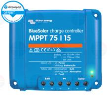 Victron Energy BlueSolar MPPT 75/15 12-24 V 15 A Regulateur Solaire (SCC010015050R)