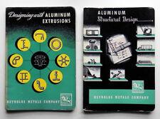 Vintage REYNOLDS METALS Co CATALOGS Structural Aluminum DESIGN MANUALS 1951-2