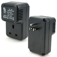 US Plug to UK Socket Voltage Step Up Converter *110V - 230V 45W* Travel Adapter