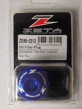 SUZUKI   RM250  RM 250     2001-2008   ZETA OIL FILLER PLUG   BLUE
