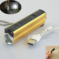 Tactical Flashlight 1600lm CREE Q5 LED 18650 Battery With Cigarette Lighter