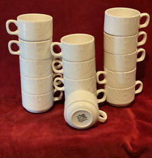New listing 15 High Quality Commercial English Made Coffee Hot Beverage Cups by Dudson 4034
