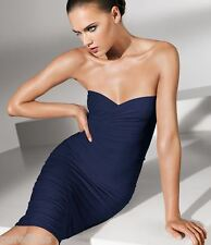 WOLFORD FATAL DRESS 50706, IN NAVY, SIZE XS, UK 6-8, USA 2-4, New in box