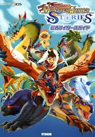 Monster Hunter Stories Official Riders Guide Japan Game Art Book NEW