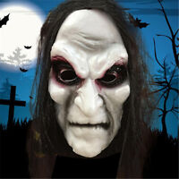 Zombie Mask Long Hair Ghost Scary Mask Props Grudge Ghost Hedging Zombie Mask Re