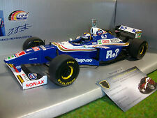 F1 WILLIAMS RENAULT 1997 British GP #4 bleu 1/18 HHF EDITION formule 1