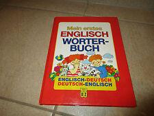 Mein erstes ENGLISCH WÖRTERBUCH - ab 6 Jahre
