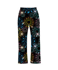 Zodiac Star Signs Horoscope Astrology Print Pyjama Bottoms Loungewear